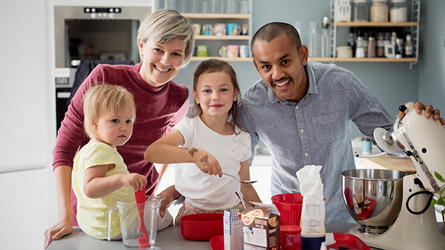 Familie baker